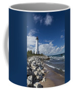 Crisp Point Lighthouse 11 Coffee Mug