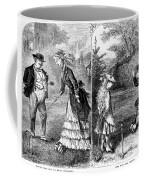 Croquet, 1873 Coffee Mug