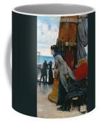 Cross Atlantic Voyage Coffee Mug by Henry Bacon