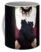 Crossed Hands Coffee Mug by Joana Kruse