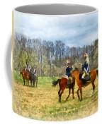 Crossing Sabers Coffee Mug by Susan Savad