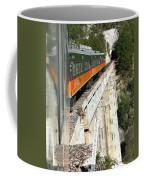 Crossing The Gorge Coffee Mug