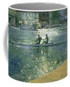Crossing The Light Break - Henley Coffee Mug