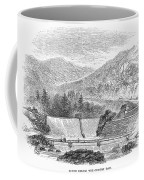 Croton Dam, 1860 Coffee Mug