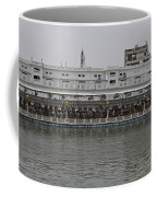 Crowd Of Devotees Inside The Golden Temple Coffee Mug