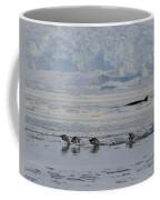 Crowded Shore Coffee Mug