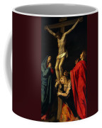 Crucification At Night Coffee Mug