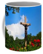 Crucifix In Indian River Coffee Mug