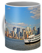 Cruising Past The Freedom Tower Coffee Mug