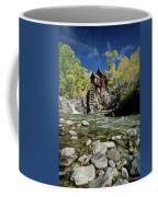 Crystal Mill In Autumn Coffee Mug