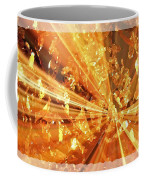 Crystallized - Digital Art Abstract Coffee Mug