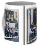 Curb Resting - Gently Cross Your Eyes And Focus On The Middle Image Coffee Mug