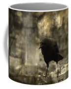Curiosity Of The Graveyard Crow Coffee Mug