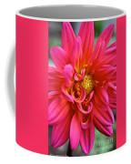 Curly Dahlia Coffee Mug