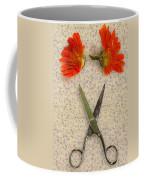 Cutting Flowers Coffee Mug