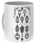 Cuvilli�s: Locks And Keys Coffee Mug