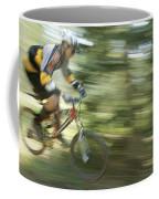 Cycling On Stoner Mesa, Colorado Coffee Mug