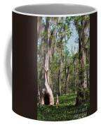Cypress Trees And Water Hyacinth In Lake Martin Coffee Mug