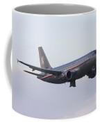Czech Air Force Flagship Airbus A319 Coffee Mug
