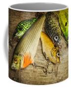 Dad's Fishing Crankbaits Coffee Mug