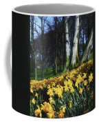 Daffodils Narcissus Flowers In A Forest Coffee Mug