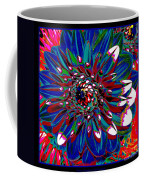 Dahlia With Intense Primaries Effect Coffee Mug