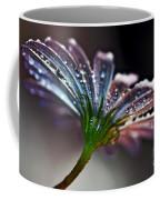 Daisy Abstract With Droplets Coffee Mug