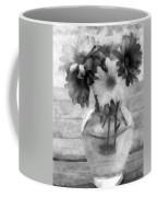 Daisy Crazy Bw Revisited Coffee Mug