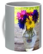 Daisy Crazy Revisited Coffee Mug