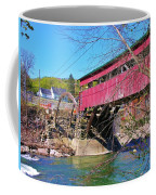 Damaged Covered Bridge Coffee Mug