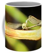 Damselflies In Nature Coffee Mug