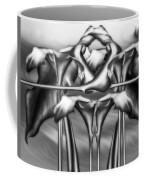 Dance Of The Black And White Calla Lilies Vi Coffee Mug