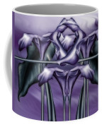Dance Of The Purple Calla Lilies V Coffee Mug