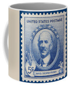 Daniel Chester French Postage Stamp Coffee Mug