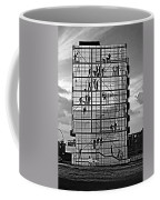 Danish Mural Monochrome Coffee Mug