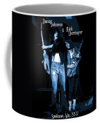 D J  And R D  Playing The Blues 1977 Coffee Mug