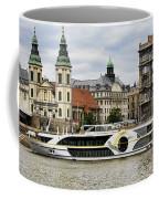 Danube Riverboat In Budapest Coffee Mug