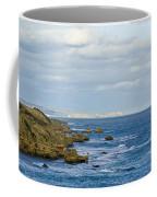 Dappled Sunlight Falls Across Rugged Coffee Mug