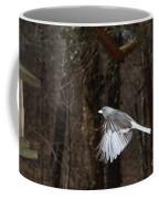 Dark-eyed Junco In Flight Coffee Mug