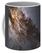 Dark Lanes Of Dust Crisscross Coffee Mug
