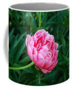 Dark Pink Peony Flower Series 2 Coffee Mug