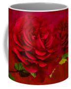 Dark Pink Rose Coffee Mug