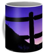 Darkening Sky Coffee Mug