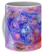 Darkness In The Mind Coffee Mug by Deborah Benoit