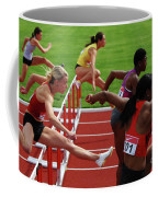 Dash To The Finish Coffee Mug