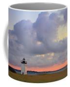 Dawn At Long Point Lighthouse Coffee Mug