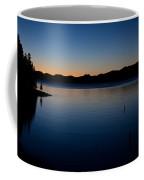 dawn at Yellowstone Lake Coffee Mug