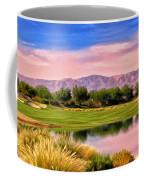 Dawn On The Golf Course Coffee Mug