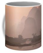 Dawn On The Li River In With Karst Coffee Mug