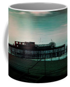 Dawn On The Seafront At Hastings Coffee Mug